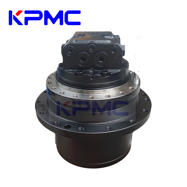 Final Drive Travel Motor with Gearbox for Hitachi Kobelco Komatsu Caterpillar Hyundai Volvo Excavator | KPMC Hydraulic